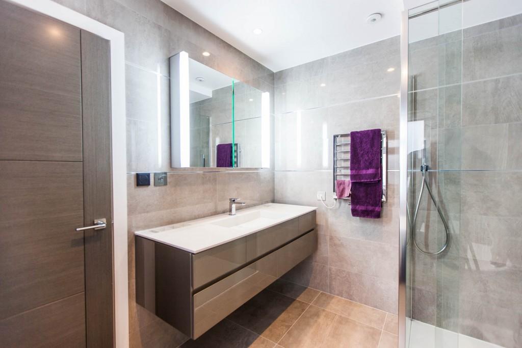 Farm Lane New Build Tile Amp Bathroom Installations